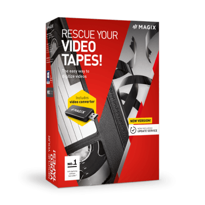 Program za presnimavanje video kaseta - MAGIX Rescue Your Videotapes