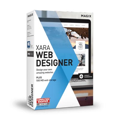 Web dizajn bez znanja kodiranja XARA Web Designer