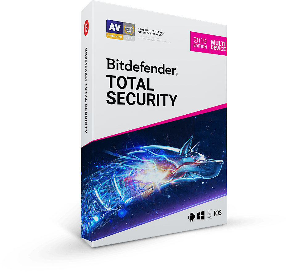 Bitdefender Total securiity 2019